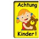 Kinder-Warntafeln
